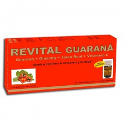 Revital Guaraná 20 viales
