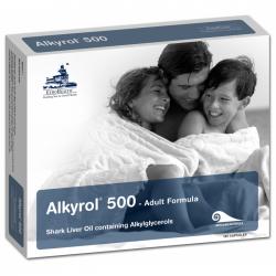 Alkyrol 500 mg 120 cápsulas